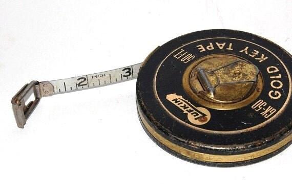 steel tape measure - 50 foot Lufkin - Gold Key Tape