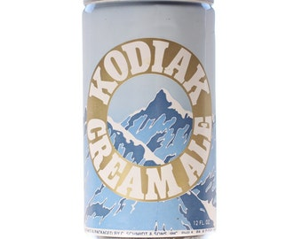 Vintage Kodiak Cream Ale 12 oz Aluminum Beer Can