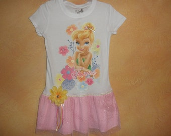 Tinkerbelle T-shirt Dress