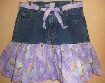 Tinkerbell Denim Skirt