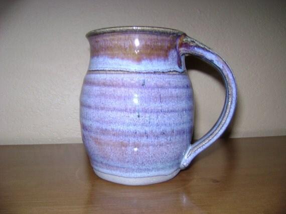 Beautiful Blue Pottery MUG