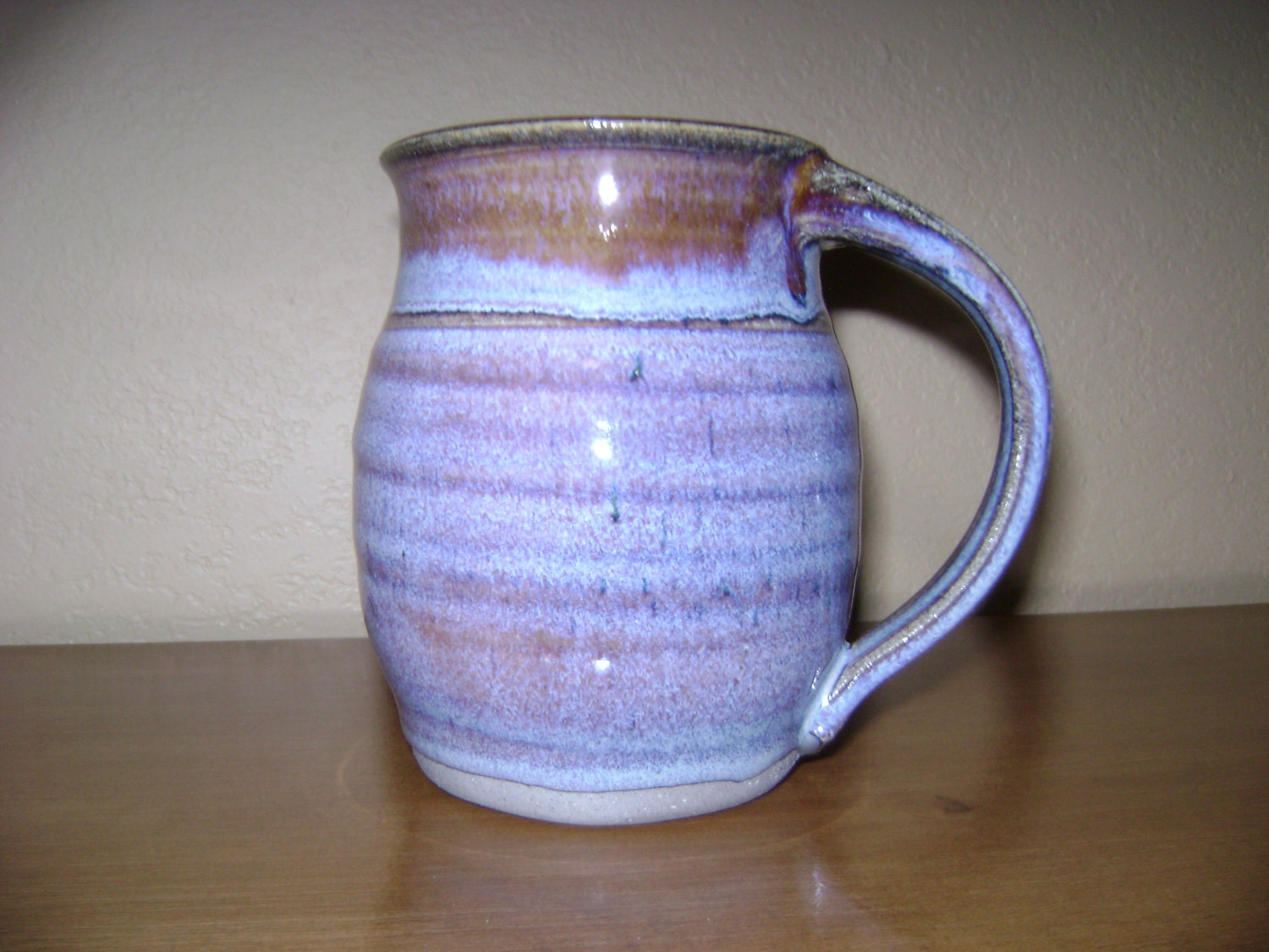 Beautiful Blue Pottery Mug By Silvagallery On Etsy