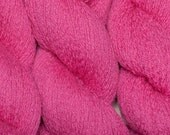 Recycled Yarn, Dayglo Pink Cashmere, 508 Yards