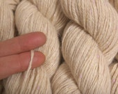 Recycled Yarn Oatmeal Merino Angora 150 Yards