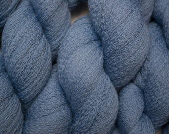 Sky Fine Merino Recycled Lace Weight Yarn, One Skein of 985 Yards Available