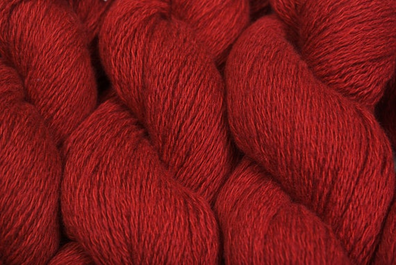 Recycled Yarn Paprika Cashmere Cotton 358 yards
