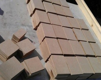 "ATC Blanks 1/4"" MDF strong for mosaic or other art"