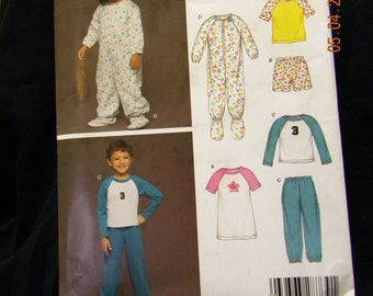 childrens sleepware uncut pattern new look 6452