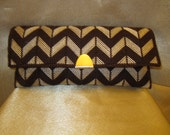 Night Out Clutch in Brown