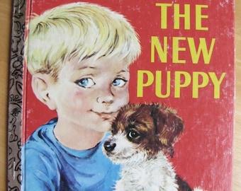 A Little Golden Book - The New Puppy