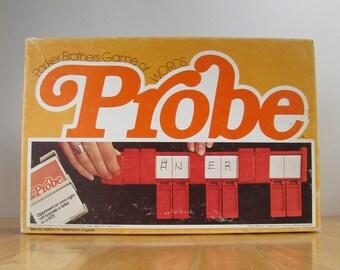 Vintage Parker Brothers Game - Probe 1976