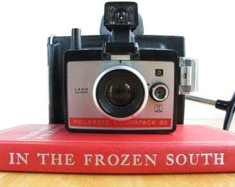 Vintage Polaroid Land Camera - Colorpack 80