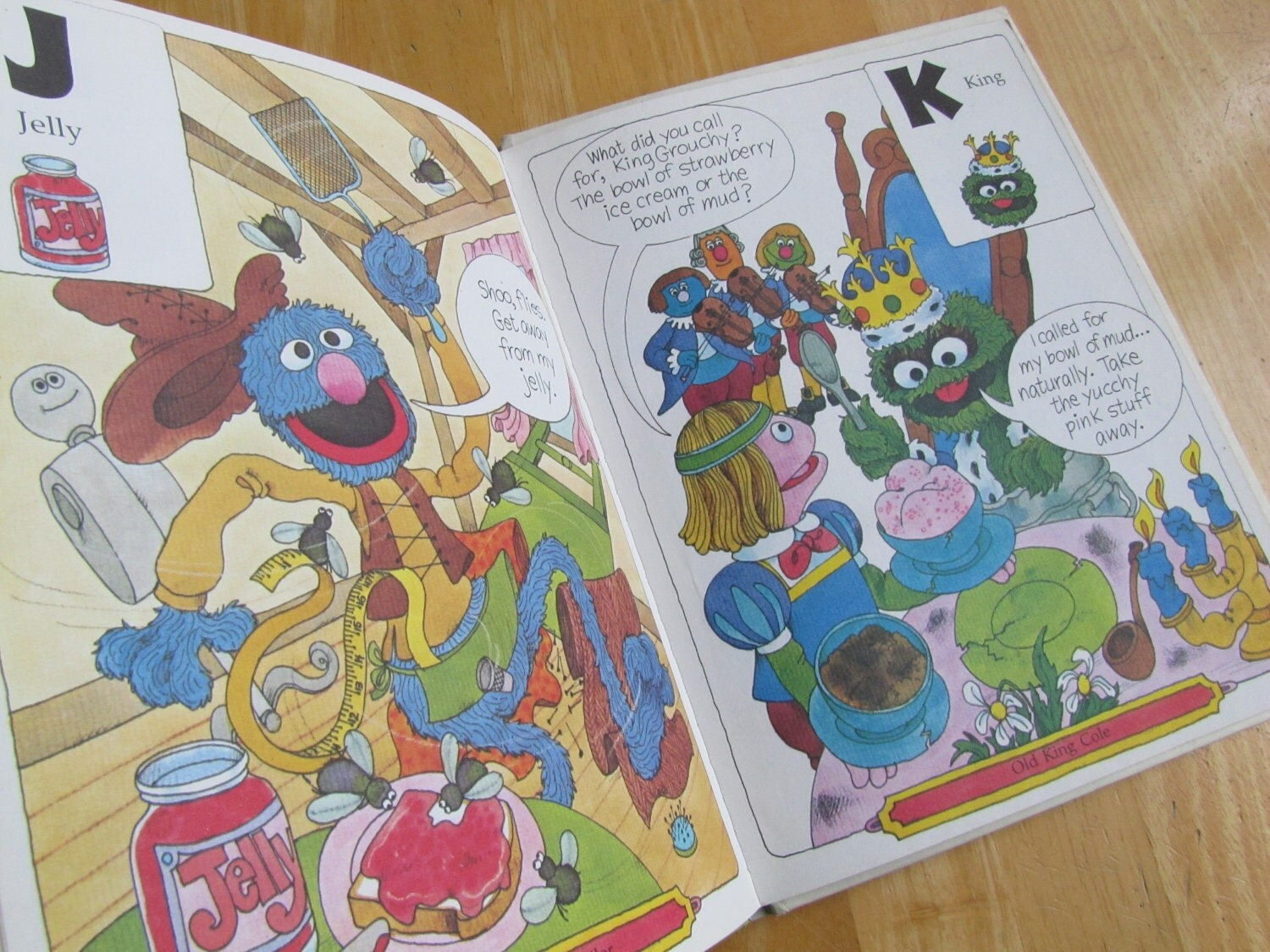 SESAME STREET STORYBOOK '71 Jim Henson's MUPPETS INTRODUCE NUMBERS LETTERS WORDS