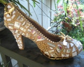 Gold Rush  Mosaic Shoe--Reserved