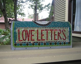 Custom Mosaic Mailbox