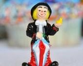 VINTAGE Inspired Clown Cake Topper
