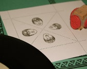 It's The Beatles Rubber Stamp