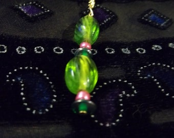 Lovely Greens Car Charms