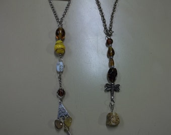 Scrumptious Browns and Yellows Car Charms