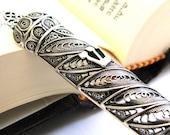 "Mezuzah Case 925 Sterling Silver Filigree  4"" X 0.4"" Artisan Wedding Gift Judaica - Free Shipping ID503"