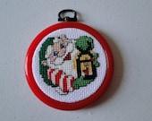 Elf with Lantern Ornament