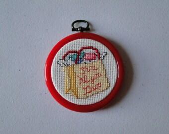 Shop Til You Drop Bag Ornament