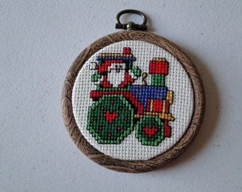 Santa the Engineer Ornament