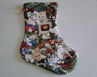 Kittens Christmas Stocking