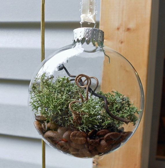 TERRARIUM,  Terrarium Ornament, Woodland Ornament