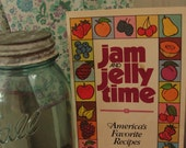 Vintage Jam and Jelly Time cookbook