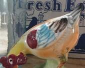 Vintage Rooster  figurine- 1950s 0r 1960s- Orion Japan