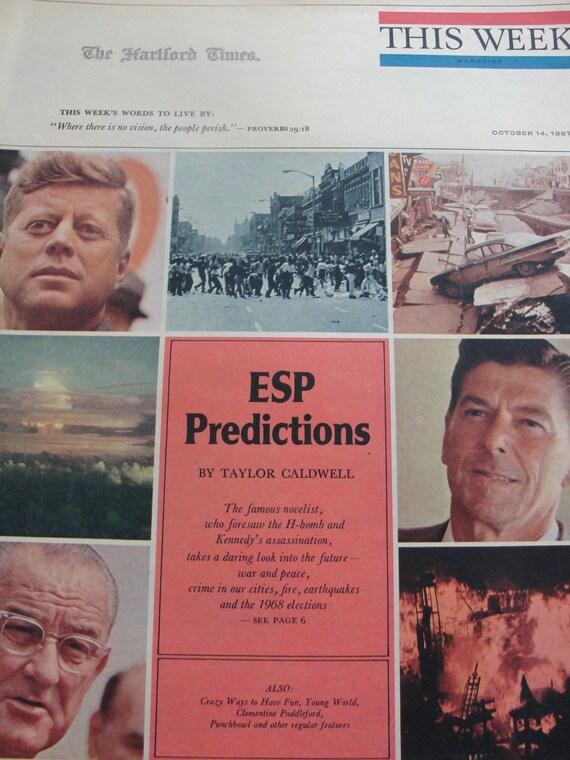 60's Mad Men Era - This Week the Hartford Times
