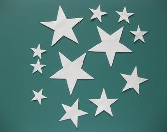 Stars that Twinkle - White Ultrasuede