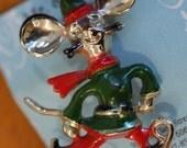 Vintage Skating Mouse Pin