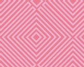 1/2 Yard Lizzy House 1001 Peeps Illusion in Pink for Andover Fabrics