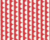 Sundae Stripe in Ruby Red by Bonnie and Camille for Moda