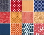 What's Cookin' 12 Fat Quarter Blogger Bundle by Nicke from Kiss Kiss Quilt