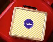 Personalized Lunch Box - Neapolitan Stripe