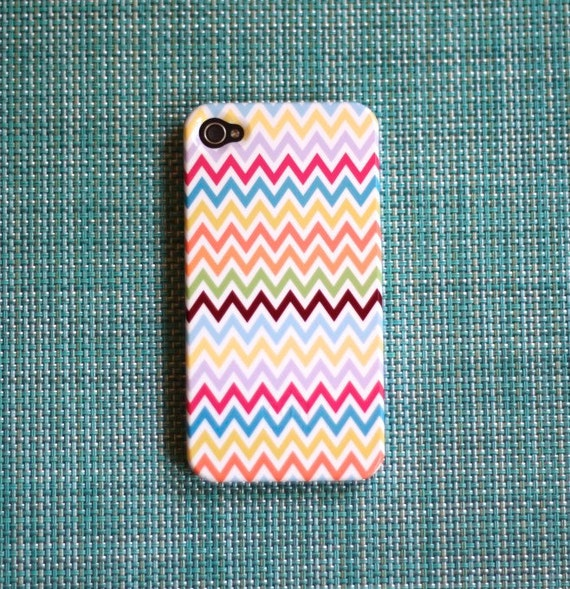 Multicolor Chevron iPhone 5 Case