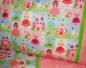 Fairytale princess toddler sheet set crib sheet set toddler girl princess bedding personalized custom