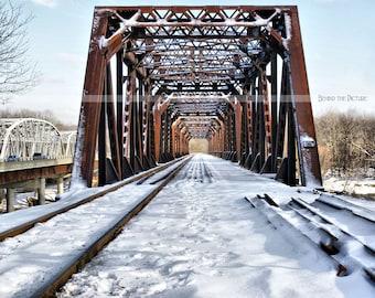 Railroad Bridge - Fine Art Photograph