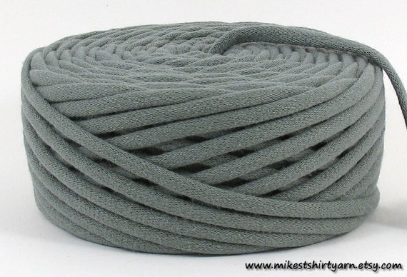 Recycled T Shirt Yarn - Olive Drab - 40 Yards - Crafting Cord