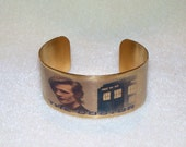 Doctor Who Eleventh Doctor and Tardis cuff bracelet