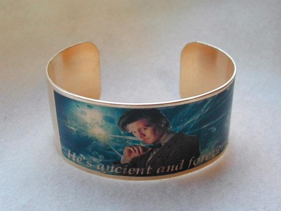 Doctor Who 11th Doctor cuff bracelet