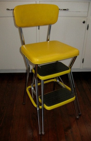 Vintage Cosco Step Stool Folding Steps By Sunporchonlilaclane