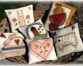 E PATTERN - Sweet Pillows - 6 Different Designs All Included - New by Terrye French, Painted by Me Sharon B - FAAP