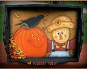 E PATTERN - Sweet Harvest Pals - NEW Fall design by Terrye French - Painted by Sharon Bond - FAAP