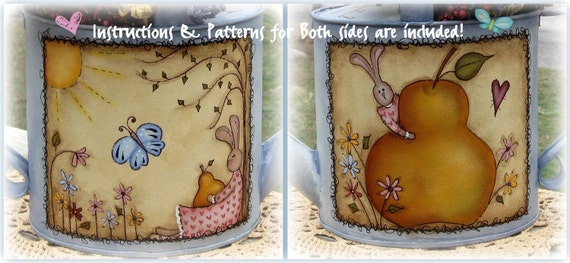 E PATTERN - SWeeT SPRiNG - Bunny - Delightful - Designed by Terrye French, Painted by Sharon Bond - FAAP