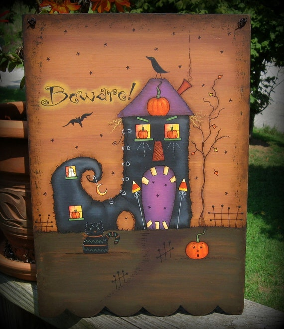 E PATTERN - Witches BOOT - Design Inspired by Terrye French and Painted by me, Sharon B. - FAAP
