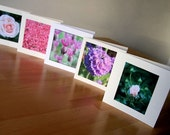Handmade Cards // Flower Mix 1 // Pack of 5 Photo Cards // Any occasion